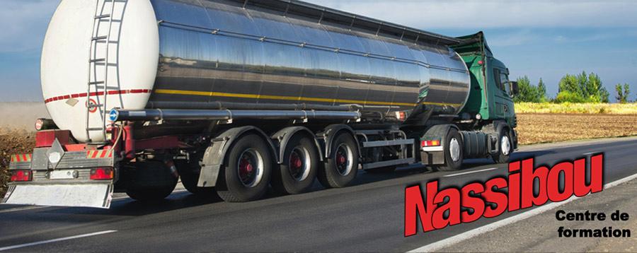 formation diplômante vous autorise à effectuer le transport de marchandises et de matières dangereuses en toute sécurité à Saint-Paul | Nassibou Auto-École et Centre de Formation